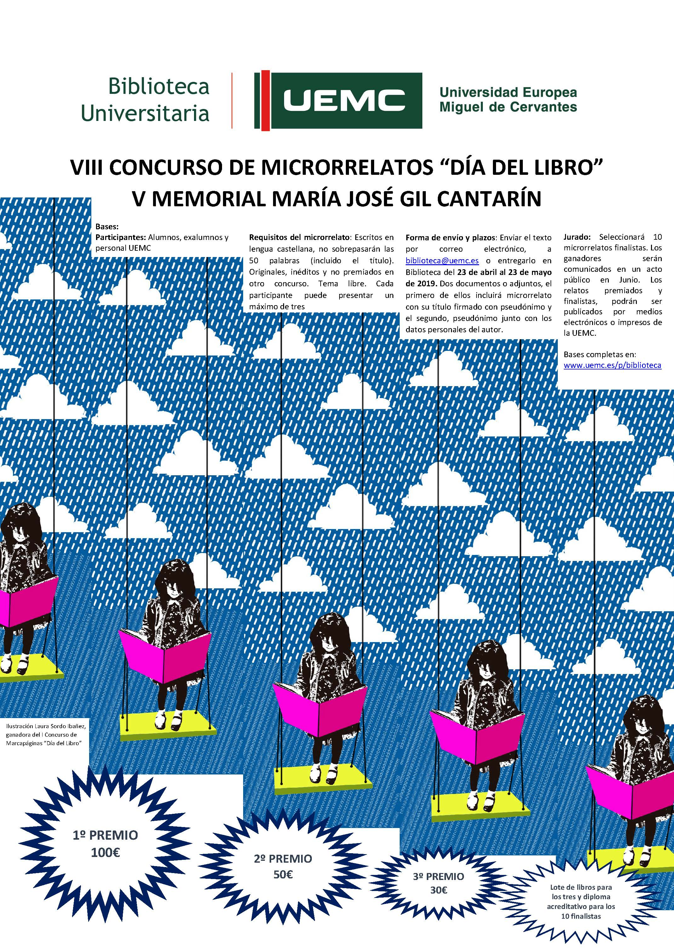 Cartel VIII Microrrelatos