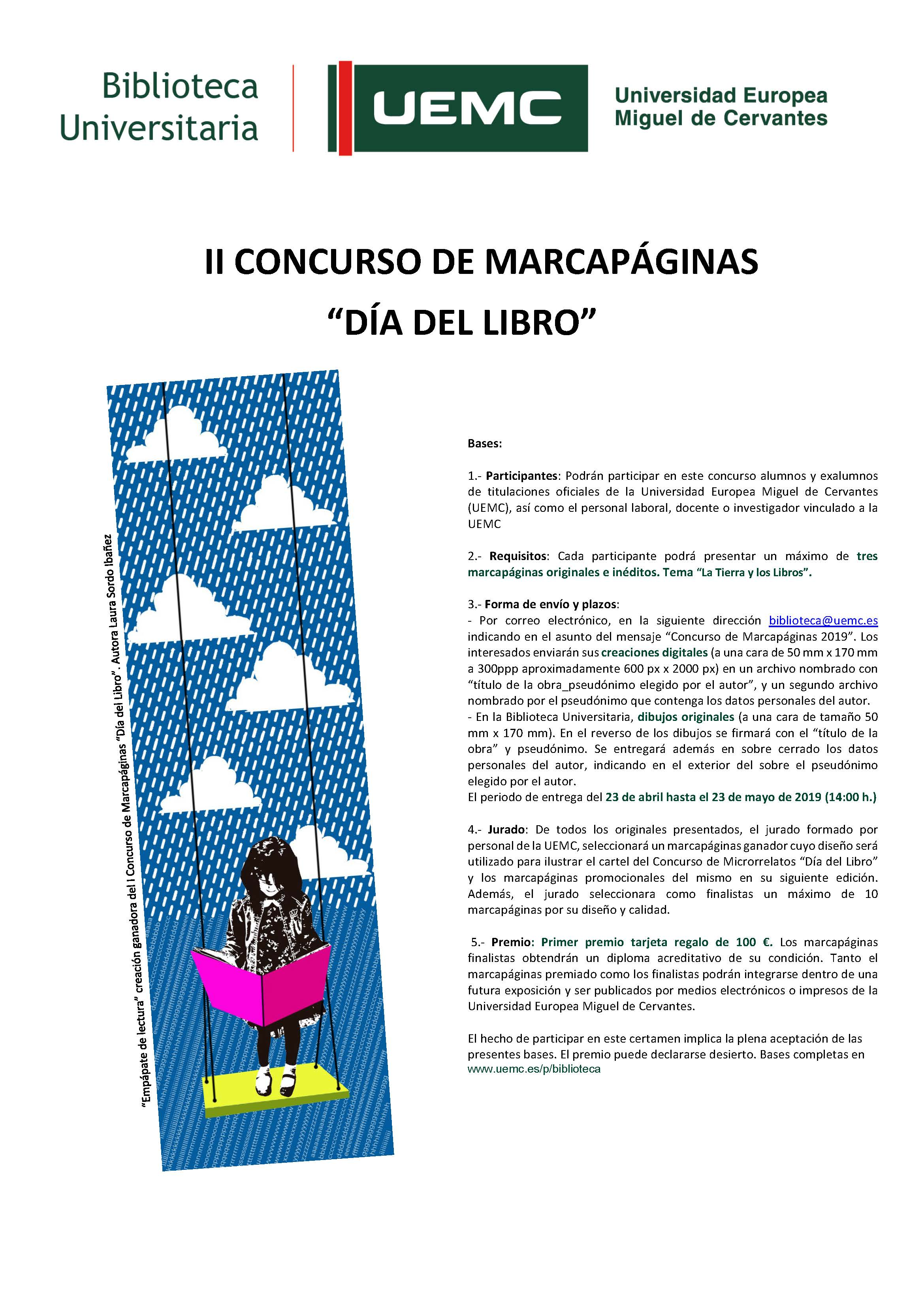 Cartel II marcapáginas